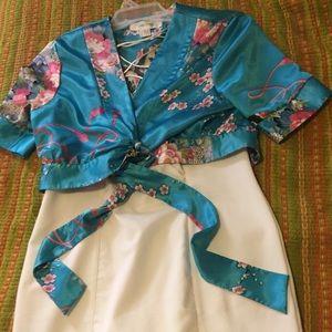 VTG kimono 👘 Boléro or Crop Top
